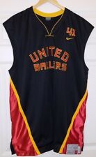 AUTHENTIC SIGNED AUTO Dirk Nowitzki United Ballers DIRTY 41 NIKE XL Jersey w COA