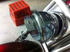 """Harley Willie G Skull Headlamp Visor for 5-3/4"""" Headlamp SOFTAIL SPORTSTER DYNA"""