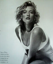 Vintage 1989 TATJANA PATITZ, Super Model,  Advertising Print Ad, SHIPS FREE!