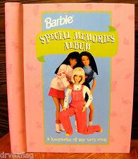 Barbie Special Memories Album by Grolier Rare Unused Mint