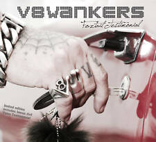 V8 WANKERS - FOXTAIL TESTIMONIAL CD+DVD wie ROSE TATTOO