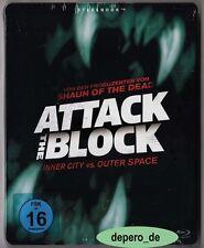 """ATTACK THE BLOCK"" - SciFi Horror Comedy - John Boyega - BLU RAY STEELBOOK"