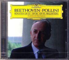 Maurizio POLLINI: BEETHOVEN Piano Sonata 11 12 21 Waldstein DG CD Klaviersonaten