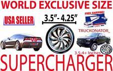 Lincoln Blackwood Aviator Continental V8 Turbo Air Intake Supercharger Fan Kit