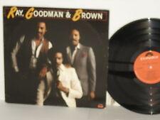 Ray Goodman & Brown 1979 LP Moments Polydor soul funk Ray, Goodman and Brown