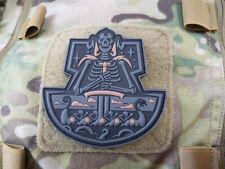 JTG Viking GhostShip Skull Patch, blackops / JTG 3D Rubber Patch
