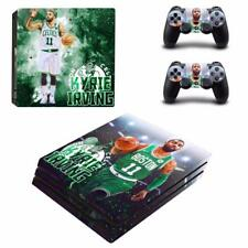 Boston Celtics Kyrie Irving PS4 Pro Console Skin Decals Vinyl Skin Sticker Cover
