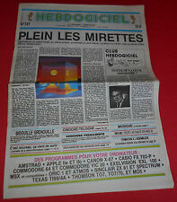 Magazine hebdogiciel [no 127 21 march 86] no tilt atari msx amstrad sinclair * jrf