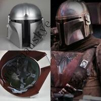 Movie Star Wars The Mandalorian Cosplay Helmet PVC Mask Original Props Halloween