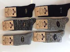 6 Pairs Mens Thick Chunky Wool Work Hiking Boot Socks Warm Size UK  6-11 KHRDPLS