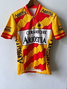 ASSOS of Switzerland ARIOSTEA BIEMME Cycle Vintage Cycling Jersey Colnago size L
