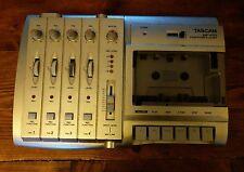 Tascam MF-P01 PortaStudio Cassette 4-TRACK RECORDER 4 TRACK Recording Studio