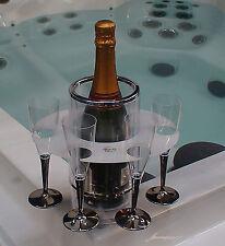 Hot Tub Spa Grip O Bottle Drinks Glass Holder Boat / Camping / Picnic