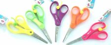 Spring-Loaded Nametag Ruler Children's Scissors. Great Quality. 13.5cm Long