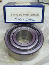 *NEW* NORMA HOFFMAN BEARING S3606 , S-3606-2RS