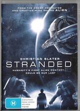 STRANDED - CHRISTIAN SLATER  - NEW & SEALED REGION 4 DVD - FREE LOCAL POST