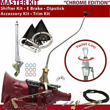 C4 Shifter Kit 23 Swan E Brake Cable Clevis Trim Kit Dipstick For D1FE2