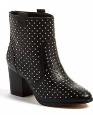 Rebecca Minkoff Womens Bootie Size 6 Black Sierra Studded Ankle Boot $225