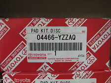 RAV4 REAR BRAKE PADS 2005 ONWARDS  ** TOYOTA GENUINE PARTS **