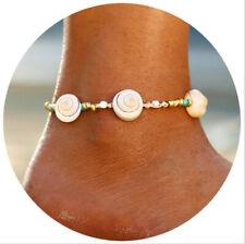 1pcs Women Sea Shell Bracelet Beach Adjustable Ankle Bracelet Fashion Jewelry