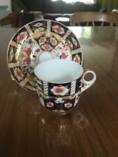 Royal Crown Derby Imari Espresso Cup and Saucer Demitasse. 2451. Free Shipping
