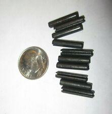 "Trigger Guard ROLL SPRING PINS 1/8"" x 5/8"" LOT OF 10 steel"