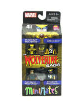Marvel Minimates Wolverine Saga Box Set Space Suit Logan-San Symbiote Ultimate