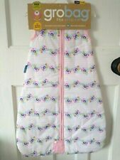 Grobag Baby Girl Sleeping Bag BNWT New 2.5 Tog 18-36 Months Pink rosie posie