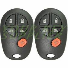 2 2004 - 2013 Toyota Sienna Replacement Keyless Entry Remote Key Transmitters