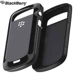 GENUINE Blackberry 9930 & 9900 Hard Shell Case Cover ACC-38874-201 - Black