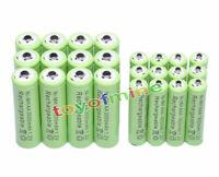 12 AA + 12 AAA 3000mAh Ni-Mh rechargeable verte de la batterie