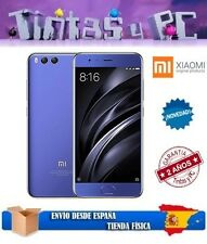 XIAOMI MI6 64GB AZUL. 4GB RAM SNAPDRAGON 835. ¡ROM OFICIAL EN ESPAÑOL!