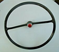FORD ANGLIA 105E 123E STEERING WHEEL WITH CENTRE BADGE 100E free p&p to uk