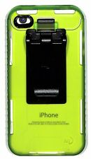 Nite Ize Transparent Lime Case Cover w/ Removable Belt Clip for iPhone 4S 4