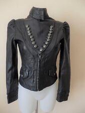 Rock & Republic de Victoria Bekham - Blouson cuir noir - 2 soit 36/38fr