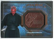 2016 Star Wars Masterwork Medallion Relics Darth Maul Naboo