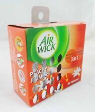 50g Air Wick Peachy Jasmine Air Freshener Gel  3 in 1 action