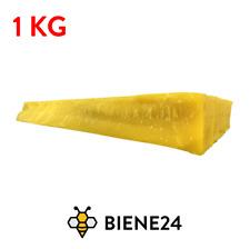 1 KG Bienenwachs (11.99€/KG) Gelb Natural Bee Wax Möbelwachs Kerzenwachs Kosmet