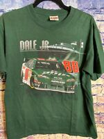 Dale Earnhardt Jr 88 Chase Authentics NASCAR T-Shirt Men's Size M Mountain Dew🔥