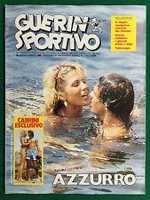 GUERIN SPORTIVO 1982 n 30 , PINK FLOYD TUTTOCOPPE
