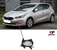 FOR KIA CEE'D EU 2012-2015 FRONT BUMPER FOGLIGHT LAMP LEFT N/S