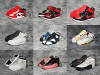 Air Jordan 1 AJ6 AJ7 AJ12 3D Mini Sneaker Keychain
