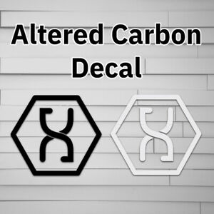 Altered Carbon Decal, Sticker, Stack, Symbol, Car Decal laptop decal window stic