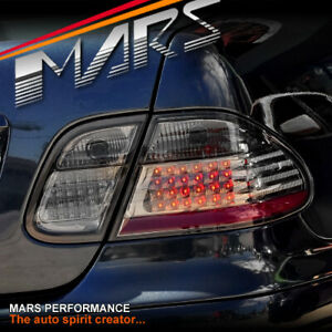 Smoked LED Tail Lights for Mercedes-Benz CLK-Class A208 W208 C208 1997-2002