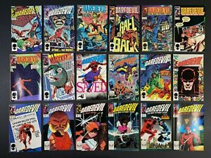 Run of (18) Daredevil (1984-88) #211-258 Marvel Comics Store Stock More Listed