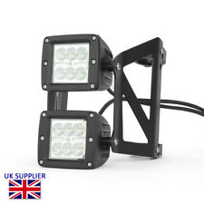 Motorcycle LED Headlight Streetfighter Project -  Dual Stacked LED 52 - 53mm