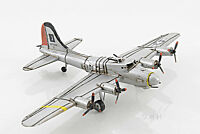 """B-17 Flying Fortress Bomber Metal Desk Model 12"""" WWII Airplane Office Decor New"""