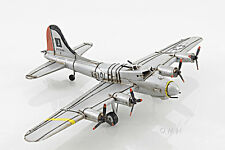 "B-17 Flying Fortress Bomber Metal Desk Model 12"" WWII Airplane Office Decor New"