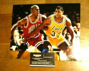 Michael Jordan Autographed 8x10 with COA
