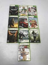 Lot of 10 Xbox 360 Video Games Gears of War Call of Duty Halo